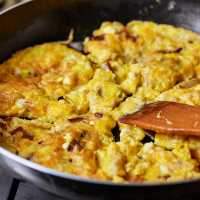 German Cheese Omelette Recipe