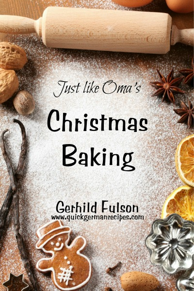Just Like Oma's Christmas Baking eCookbook