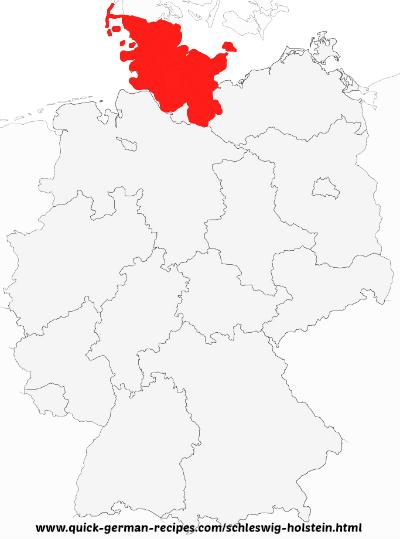 Schleswig-Holstein map