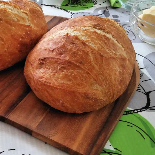 Oma's Artisan Bread Recipe