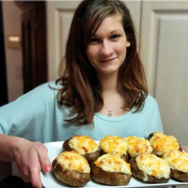 Lydia's Twice Baked Potato Recipe