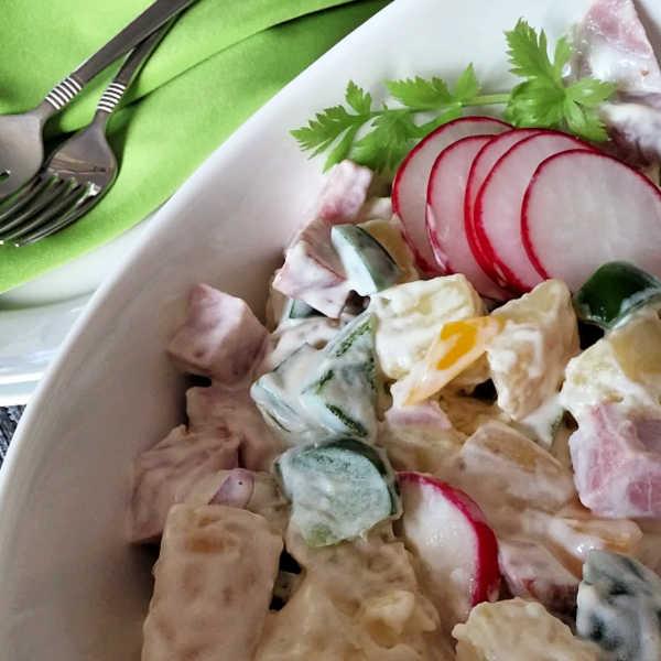 Oma's German Confetti Salad