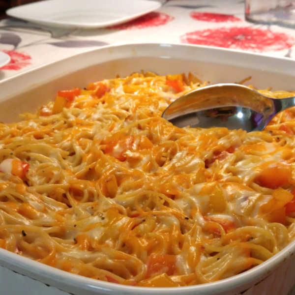 Oma's Easy Baked Spaghetti Recipe