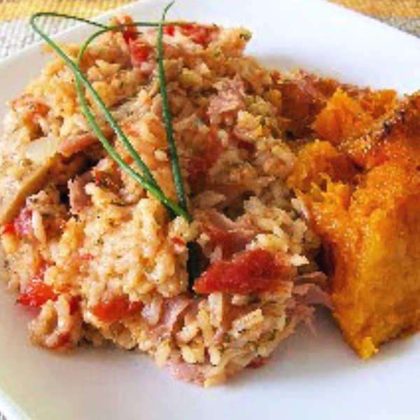 Oma's One Skillet German Rice Dinner