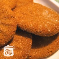 Oma's Ginger Snap Cookies