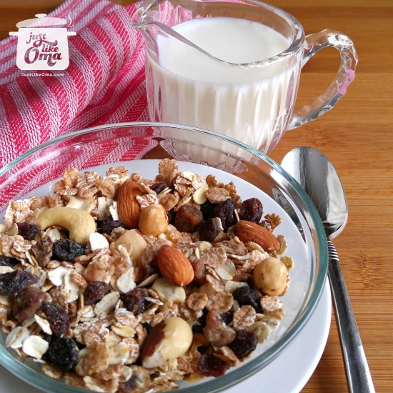 Opa's Trail Mix / Granola Recipe