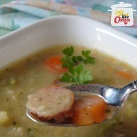 Oma's Hearty Vegetable Soup with Sausage