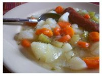 Oma's Homemade Potato Soup