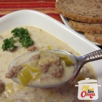 Oma's Leek Soup Recipe