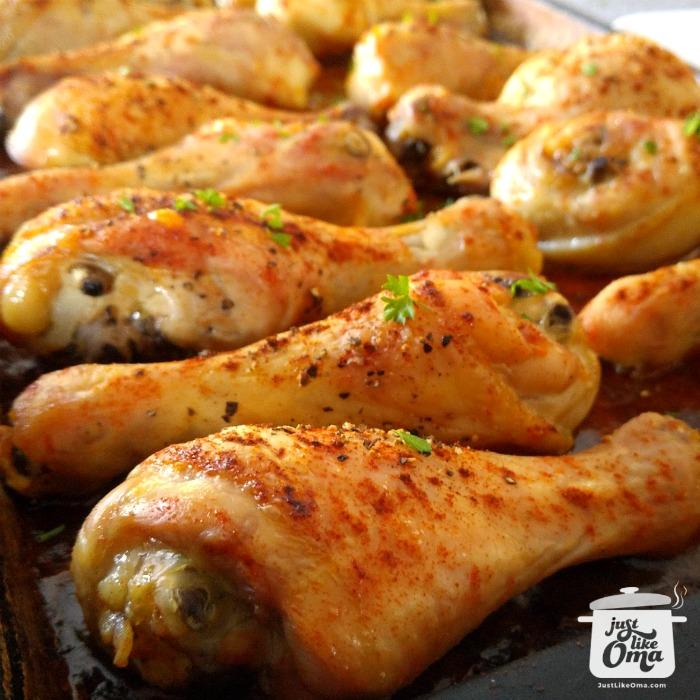 Oma's Oven Fried Chicken ~ Brathendl