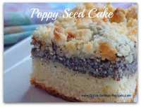 Mutti's Poppy Seed Cake Recipe