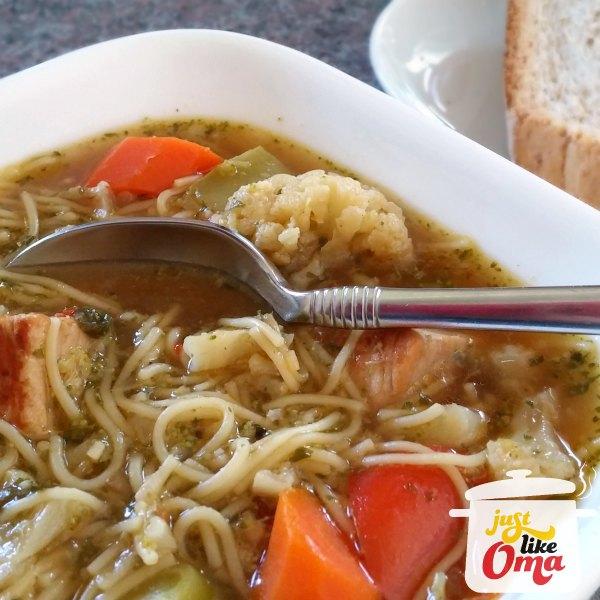 Oma's Pork Noodle Soup