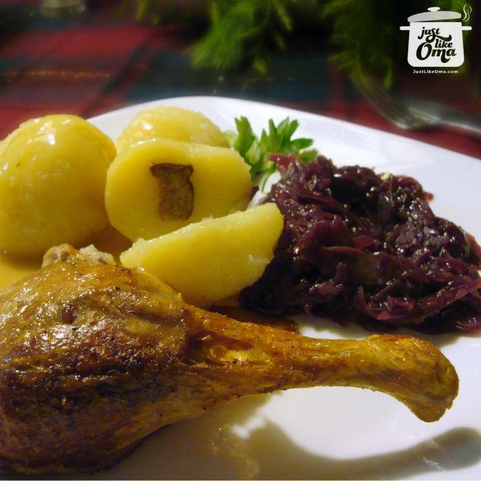 Oma's Traditional Roast Duck Recipe