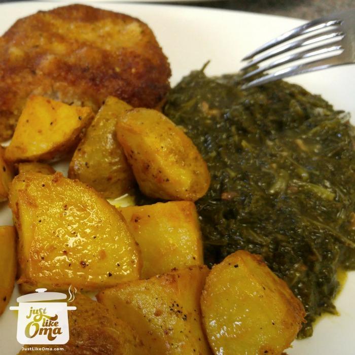 Heidi's Marinated Roast Potato Recipe