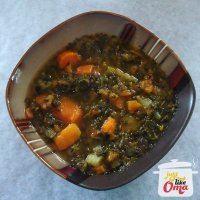 2. Vegan Kale & Sweet Potato Soup