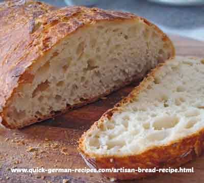 German Bread Recipes: artisan bread