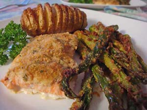 Asparagus - roasted, quick and easy!