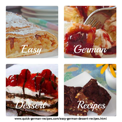 Easy German Dessert Recipes