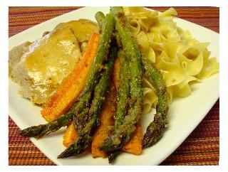 Rich's baked asparagus ... so good!