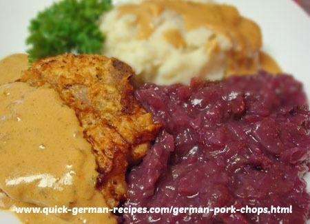 German FoodsÖ Düsseldorfer Breaded Pork Chops