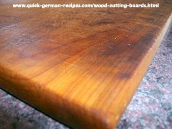 Restoring Wood Cutting Boards