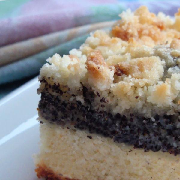 German cakes: German Poppy Seed Cake