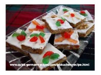 Lebkuchen - it's the German Gingerbread