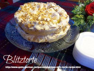 German Cake Recipes: Blitztorte