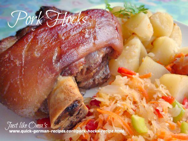 Pork Hocks perfect for Oktoberfest
