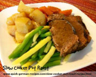 Pot Roast - Slow Cooker - get this ready the night before