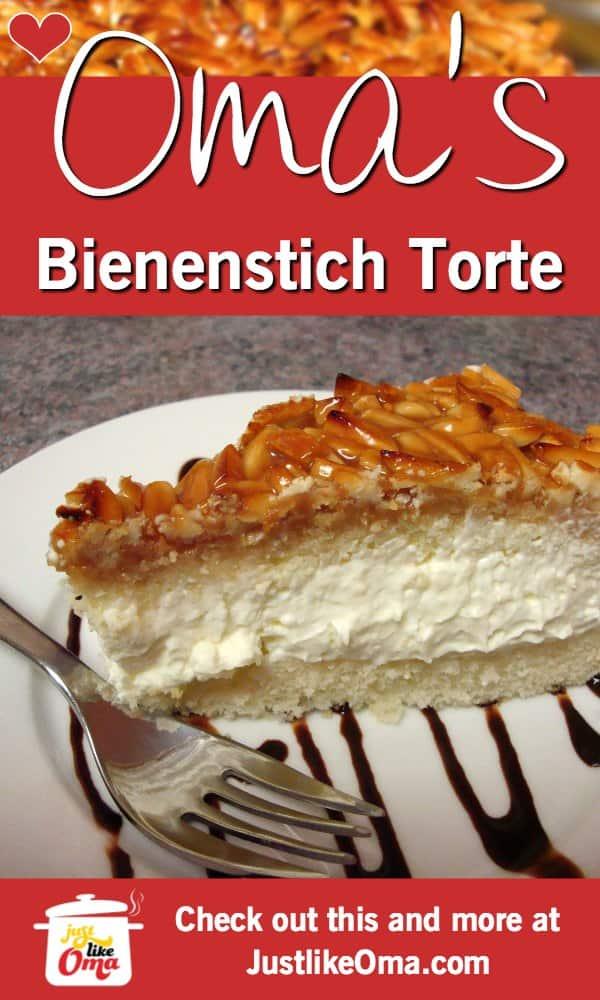 Wunderbar! Bienenstich Cake: German