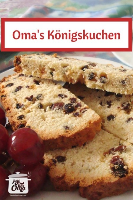 Königskuchen! A traditional German holiday treat!