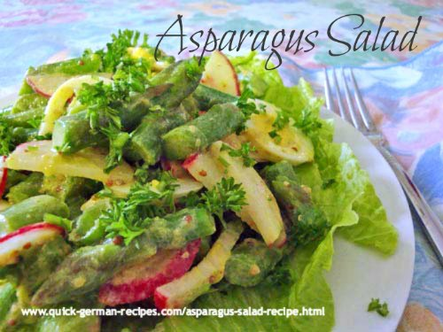 Asparagus Salad - delicious spring-time salad