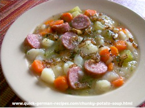 Potato Soup, Chunky - wunderbar!