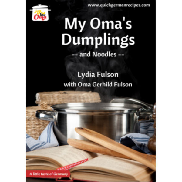My Oma's Dumplings and Noodles eCookbook
