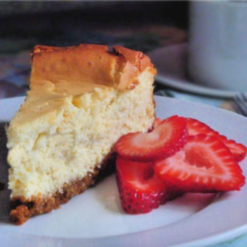 Cheesecake - quick and delicious (no quark)