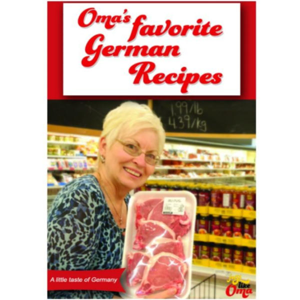 Oma's Favorite German Recipes eCookbook.