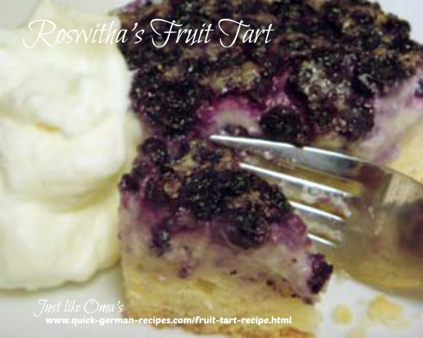 Fruit tart - sent in by one of our readers