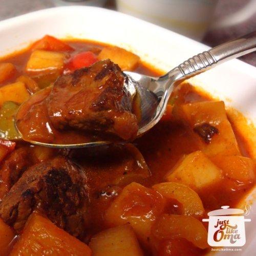 Traditional Goulash Soup Recipe