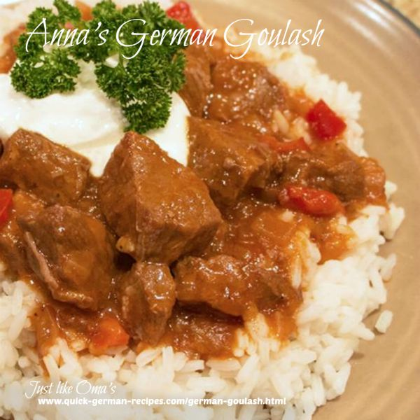 Slow Cooker Goulash - wunderbar!