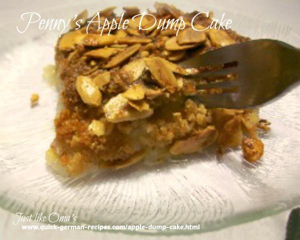 Quick Cake Recipes: Apple Dump Cake