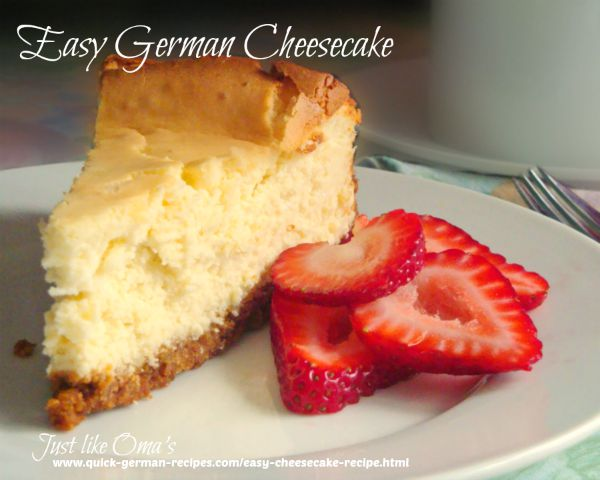 Cheesecake - quick and delicious (no quark)