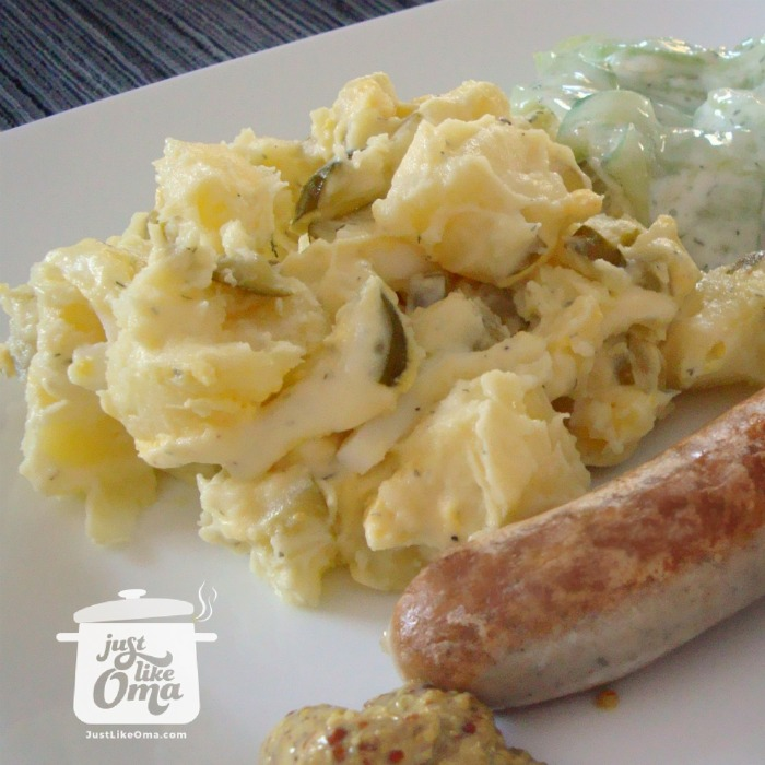 Oma's easy German Potato Salad
