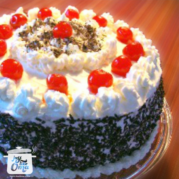 Americanized German Black Forest Cake