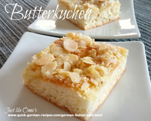 Butter Cake, EASIER!  - use your bread machine for this!