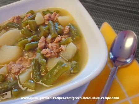 German Soups: Green Bean Soup