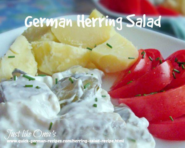 Herring Salad ... everyone loves this!