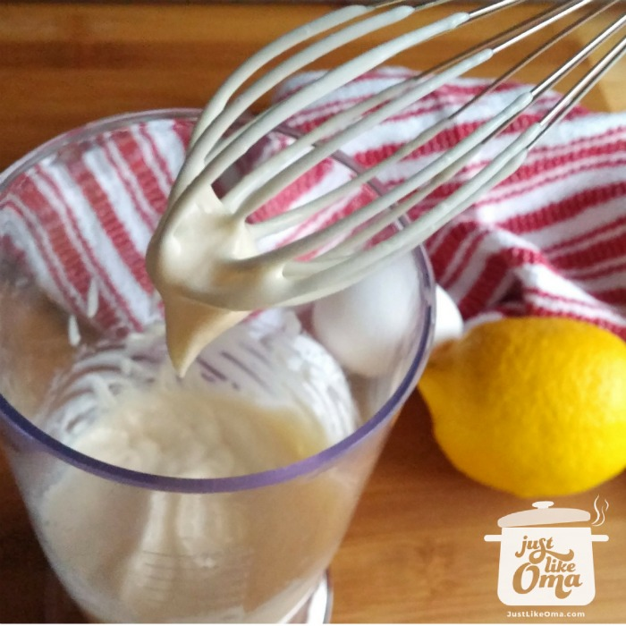 Let me show you how to make this easy mayonnaise