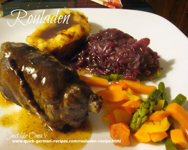 Rouladen #2- another great ROULADEN recipe