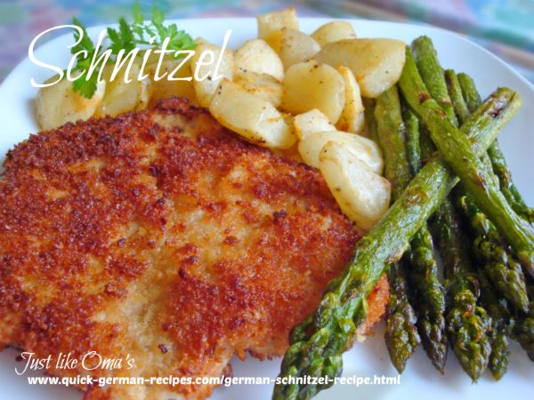 German Meats: Schnitzel recipe